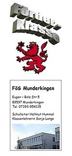 Titelblatt Flyer FöS-Klasse