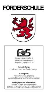 Titelseite FöS Flyer