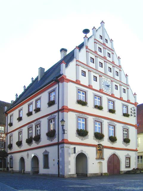 Munderkinger Rathaus von 1563