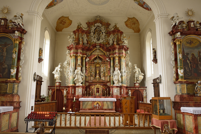 Blick zum Altar, Foto: Thomas Stephan