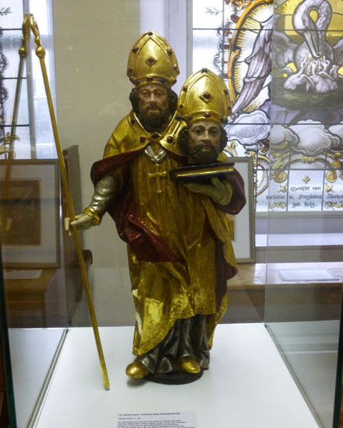 Statue des St. Dionysius