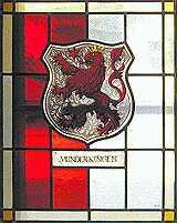 Glasfenster Munderkinger Wappen