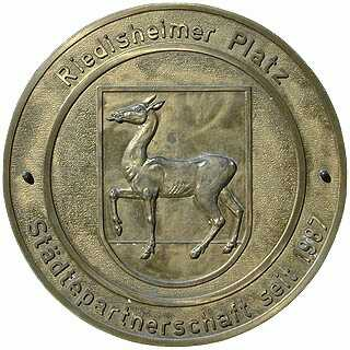 Riedisheimer Platz Erinnerungstafel