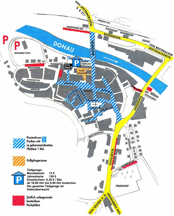 Parkplatz Karte