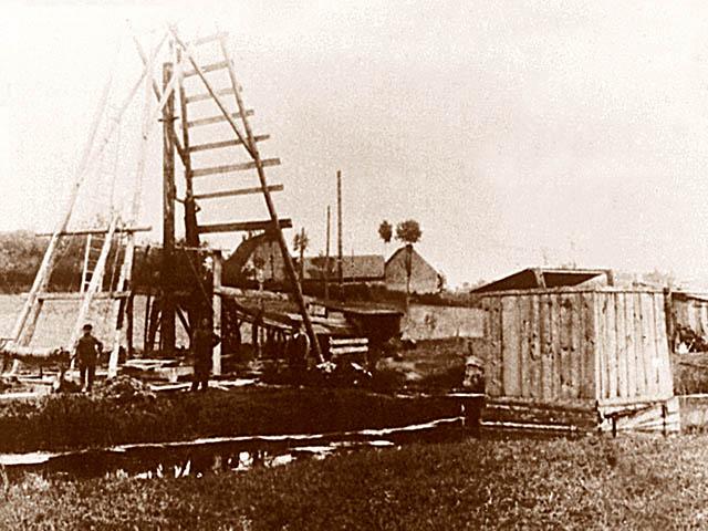 Tiefbohrung vor dem 1. Weltkrieg