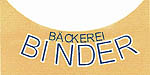 Logo Bäckerei Binder