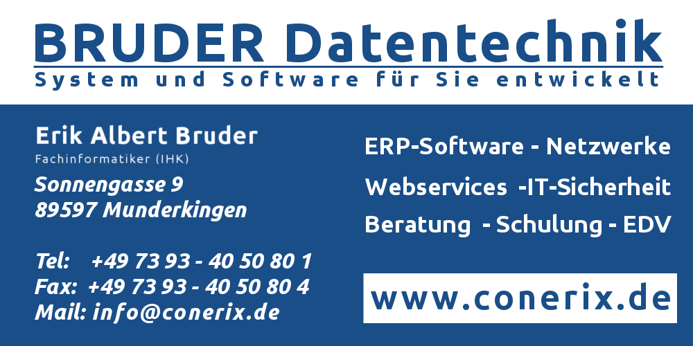 Logo BRUDER Datentechnik
